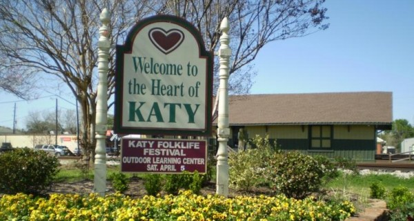 Katy Texas Sign